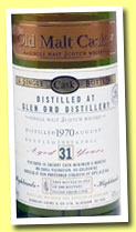 Glen Ord 31 yo 1970/2002 (50%, Douglas Laing, Old Malt Cask, Sherry finish 6 months, 240 bottles)