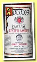Peated Amrut (62.7%, Blackadder, Raw Cask, cask #BA14/2012, 282 bottles, 2012)