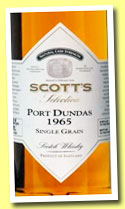Port Dundas 1965/2012 (43.6%, Scott's Selection)