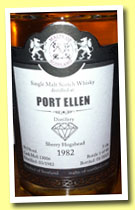 Port Ellen 1982/2013 (59.5%, Malts of Scotland, Warehouse Diamonds, sherry hogshead, cask #MoS 1306)