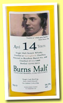Springbank 14 yo 1998/2013 'Burns Malt' (54.3%, The Whisky Barrel, cask #448)