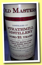 Strathmill 21 yo 1990/2012 (54.1%, James MacArthur, bourbon wood, cask #101112)