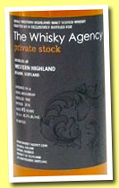 Western Highland 45 yo 1965/2010 (45.7%, The Whisky Agency, Private Stock, refill hogshead, 98 bottles)