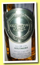 Aultmore 16 yo 1997/2013 (53.5%, Exclusive Casks, fresh American oak finish, 298 bottles)