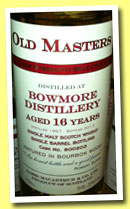 Bowmore 16 yo 1997/2013 (56.3%, James MacArthur, Old Masters, bourbon wood, cask #800203)