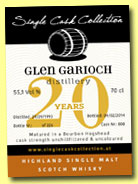 Glen Garioch 20 yo 1993/2014 (55.1%, Single Cask Collection, bourbon hogshead, cask #808, 226 bottles)