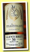 Glenturret 30 yo 1982/2013 (46%, The Maltman, bourbon, cask #258, 242 bottles)