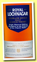 Royal Lochnagar 'Triple Matured Edition' (48%, OB, Friends of the Classic Malts, 2013)