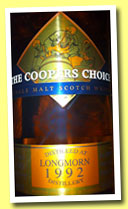 Longmorn 19 yo 1992/2012 (58.2%, Coopers Choice, hogshead, cask #71779, 270 bottles)