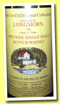 Longmorn 17 yo 1996/2013 (46%, Signatory for Waldhaus am See, cask #72320, 753 bottles)