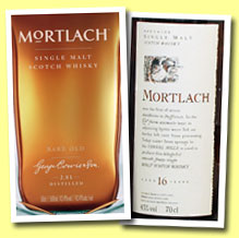 Mortlach 'Rare Old' (43.4%, OB, 2014)