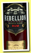Rebellion 'Premium Black Rum' (37.5%, OB, blended rum, +/-2013)