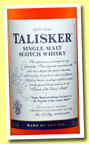 Talisker 'Triple Matured Edition' (48%, OB, Friends of the Classic Malts, 2013)