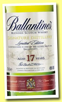Ballantine's 17 yo 'Glentauchers Signature Edition' (40%, OB, blend, +/-2014)