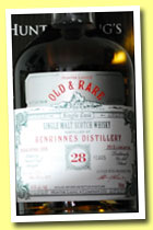 Benrinnes 28 yo 1984/2013 (49.8%, Hunter Laing, Old and Rare, refill butt, 133 bottles)