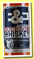 St. George 'Breaking & Entering Bourbon' (43%, OB, USA, bourbon, +/-2014)