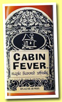 Cabin Fever (40%, OB, maple flavoured whisky, USA, +/-2014)