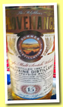 Dailuaine 15 yo 1997/2013 (46%, Douglas McGibbon, Provenance)