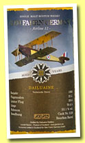 Dailuaine 22 yo 1992/2014 (53.1%, Glen Fahrn Germany, bourbon barrel, cask #3126)