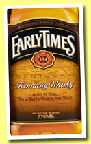 Early Times (40%, OB, Kentucky whisky, +/-2013)