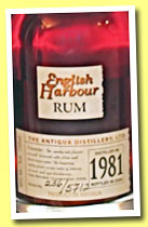 English Harbour 25 yo 1981/2006 (40%, OB, Antigua)