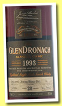 Glendronach 20 yo 1993/2013 (59.1%, OB, Abbey Whisky, Oloroso sherry butt, cask 33, 592 bottles)
