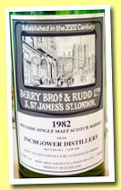 Inchgower 1982/2011 (52.9%, Berry Bros & Rudd for La Maison du Whisky, cask #6984)
