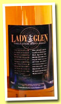 Invergordon 24 yo (56%, Lady of The Glen, 156 bottles, +/-2013)