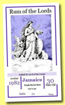 Jamaica 30 yo 1982/2013 'Freya' (50.8%, Lord of the Drams, 35 bottles)
