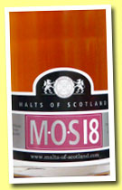 M.O.S 18 (45%, Malts of Scotland, blended malt, +/-2013)