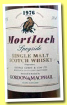 Mortlach 36 yo 1976/2012 (43%, Gordon & MacPhail, lincensed bottling)
