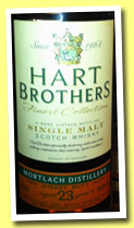 Mortlach 23 yo 1990/2013 (46%, Hart Bros, Finest Collection, first filled sherry butt)
