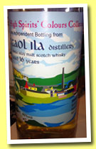 Caol Ila 16 yo 1995/2011 (46%, High Spirits, Colours Collection)