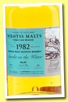 Caol Ila 1982/2014 'Smoke on the Water' (46%, Wemyss Malt, hogshead, 255 bottles)