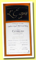 Clynelish 15 yo 1995/2011 (46%, L'Esprit, first fill sherry butt, cask #8657)