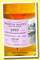 Clynelish 16 yo 1997/2013 'Bench with a Sea view' (46%, Wemyss Malts, hogshead, 371 bottles)