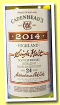 Clynelish 24 yo 1990/2014 (47.5%, Cadenhead, London Exclusive, 228 bottles)