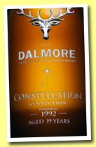 Dalmore 19 yo 1992/2012 'Constellation' (53.8%, OB, first fill bourbon barrel, finished for 9 years in a Port pipe, cask #18)