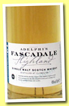 Fascadale 12 yo 'Batch 6'  (46%, Adelphi, 1496 bottles, 2014)