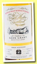 Glen Grant 22 yo 1992/2014 (57.8%, The Single Malts of Scotland, bourbon, cask #35936, 222 bottles)