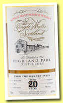 Highland Park 20 yo 1994/2014 (50.9%, The Single Malts of Scotland, hogshead, cask #0017, 2015 bottles)