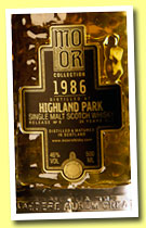 Highland Park 24 yo 1986/2010 (46%, Mo Or Collection, bourbon hogshead, cask #2275, 300 bottles)