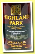 Highland Park 25 yo 1980/2005 (55.5%, OB for Germany, cask #7363)