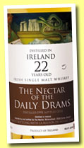 Ireland 22 yo 1991/2014 (46.6%, The Nectar of the Daily Drams and La Maison du Whisky)