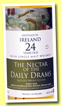 Ireland 24 yo 1989/2014 (42.2%, The Nectar of the Daily Drams and La Maison du Whisky)