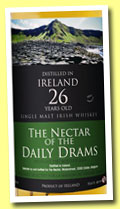 Ireland 26 yo (51.6%, The Nectar of the Daily Drams and La Maison du Whisky)