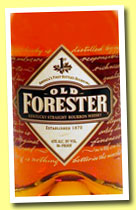 Old Forester (43%, OB, Kentucky straight Bourbon, +/-2008)