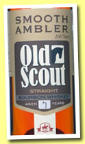 Smooth Ambler Old Scout 7 yo (49.5%, OB, bourbon, West Virginia, +/-2014)
