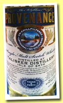 Talisker 'Young & Feisty' (46%, McGibbon's Provenance,  Spring 2014)