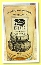 2nd Chance Wheat (47%, OB, USA, Sonoma County Distilling Co., batch #2, 2014)